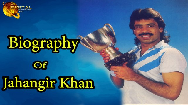 Jahangir Khan - A Former Squash Player - Biography - HD