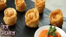 Veg Momos Recipe In Hindi | मोमोज बनाने की विधि | Best Fried Momos | वेज मोमोज | Vegetable Momos