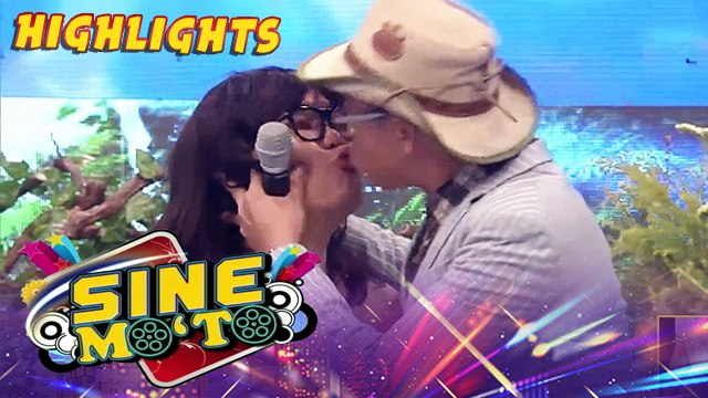 Kuya Kim kisses Jugs | It's Showtime Sine Mo 'To