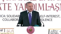 Cumhurbaşkanı erdoğan, 3. afrika ülkeleri dini liderler zirvesi'nde konuştu