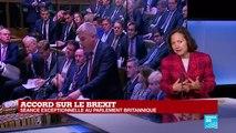 Brexit : Boris Johnson défend son accord devant les députés britanniques