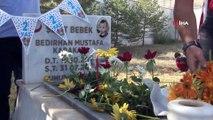 En buruk doğum günü... Şehit Bedirhan bebek 2. yaş gününde mezarı başında anıldı