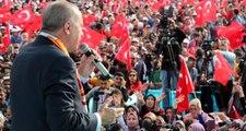 Cumhurbaşkanı Erdoğan'dan gözdağı: Teröristler verdiğimiz sürede gitmezse başlarını ezeriz