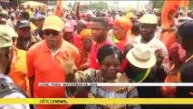 Togo : le leader de l'opposition contre quatrième mandat du président