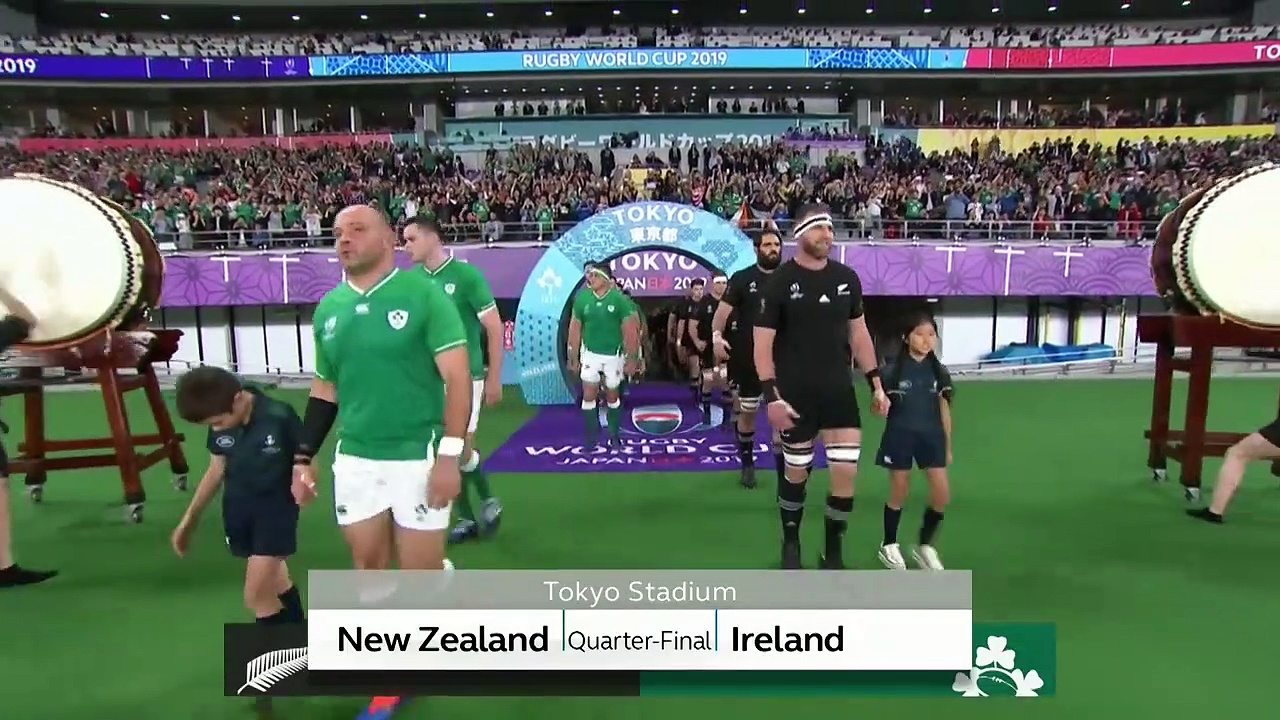 Highlights : Quarter-Finals - New Zealand v Ireland