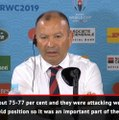 Jones thrilled with England's defence in win over Australia