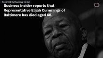 Rep. Elijah Cummings Is Dead
