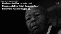 Rep. Elijah Cummings Is Dead