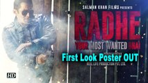 Salman Khan as Most Wanted Bhai in 'Radhe' |  First Look Poster OUT