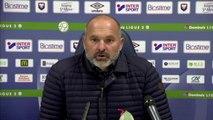 Conférence de presse de Pascal Dupraz après SMCaen / Valenciennes FC