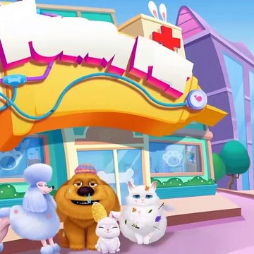 Baby Panda Furry Pet Care Hospital  Play Fun Care OF Cute Animals Games For Kids