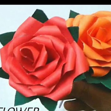 How to make Realistic flower by using papers ||DIY ||