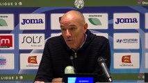 Après HAC - Lorient (2-2), réaction de Paul Le Guen