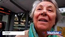 Inauguration du tram : des Avignonais ravis, Mireille Mathieu aussi