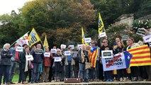 80 personnes se rassemblent à Quimper en soutien aux indépendantistes catalans