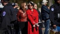 Jane Fonda a été arrêtée lors du manifestation pour le climat