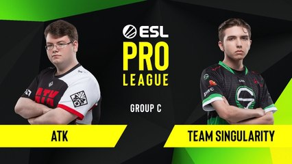 CS-GO - ATK vs. Team Singularity [Train] Map 1 - Group C - ESL NA Pro League Season 10
