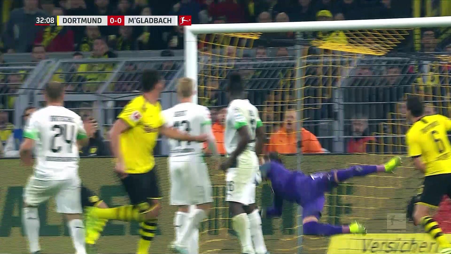 8. Hafta / Borussia Dortmund - Borussia Mönchengladbach: 1-0 (Özet)