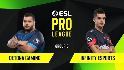 CS-GO - Detona Gaming vs. Infinity Esports [Inferno] Map 1 - Group D - ESL NA Pro League Season 10
