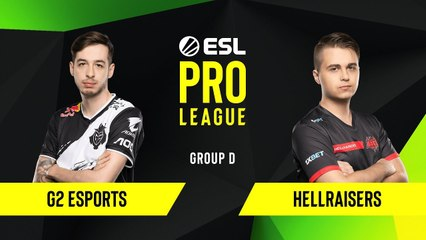 CS-GO - G2 Esports vs. HellRaisers [Dust2] Map 2 - Group D - ESL EU Pro League Season 10