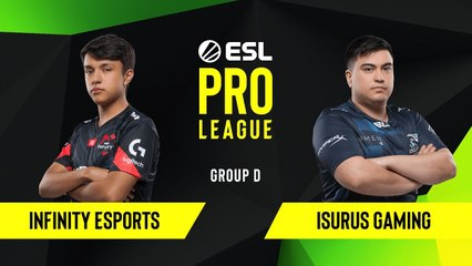 CS-GO - Isurus Gaming vs. Infinity Esports [Inferno] Map 2 - Group D - ESL NA Pro League Season 10