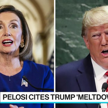 Trump, Pelosi Cite 'Meltdown' as White House Meeting Breaks Down