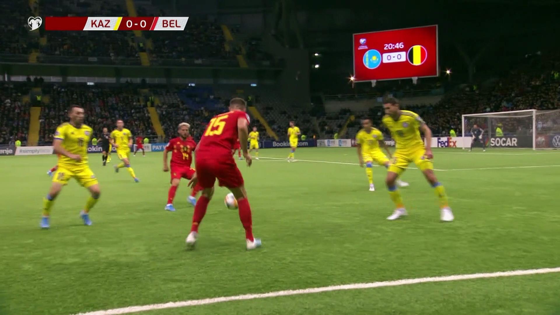 8. Hafta / Kazakistan - Belçika: 0-2 (Özet)