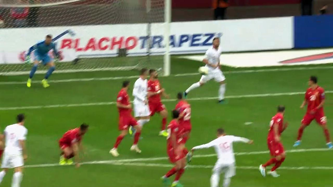 8. Hafta / Polonya - Makedonya: 2-0 (Özet)