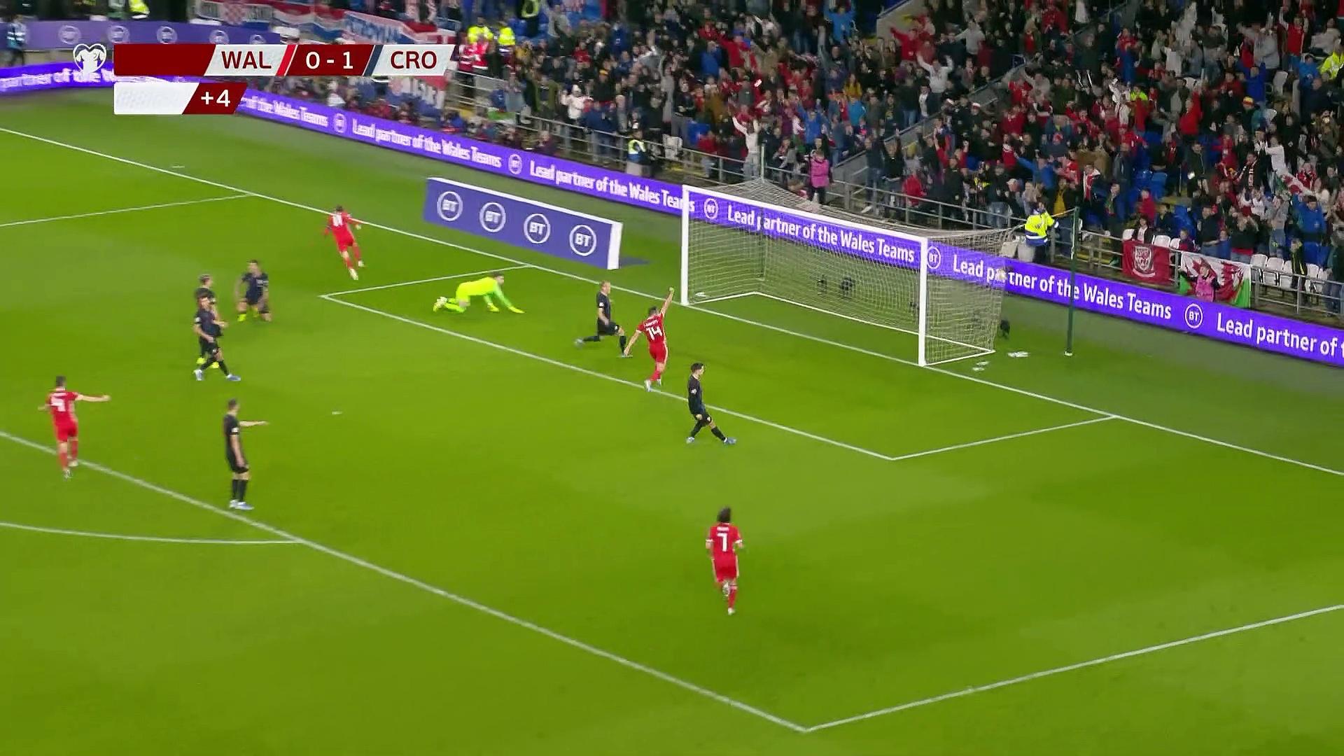 8. Hafta / Galler - Hırvatistan: 1-1 (Özet)