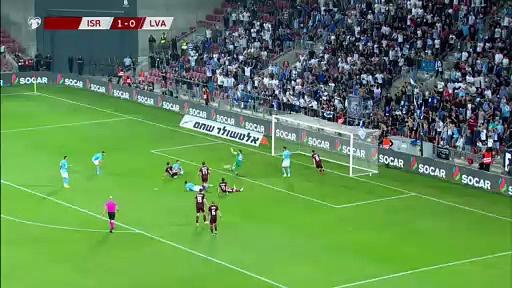 8. Hafta / İsrail - Letonya: 3-1 (Özet)