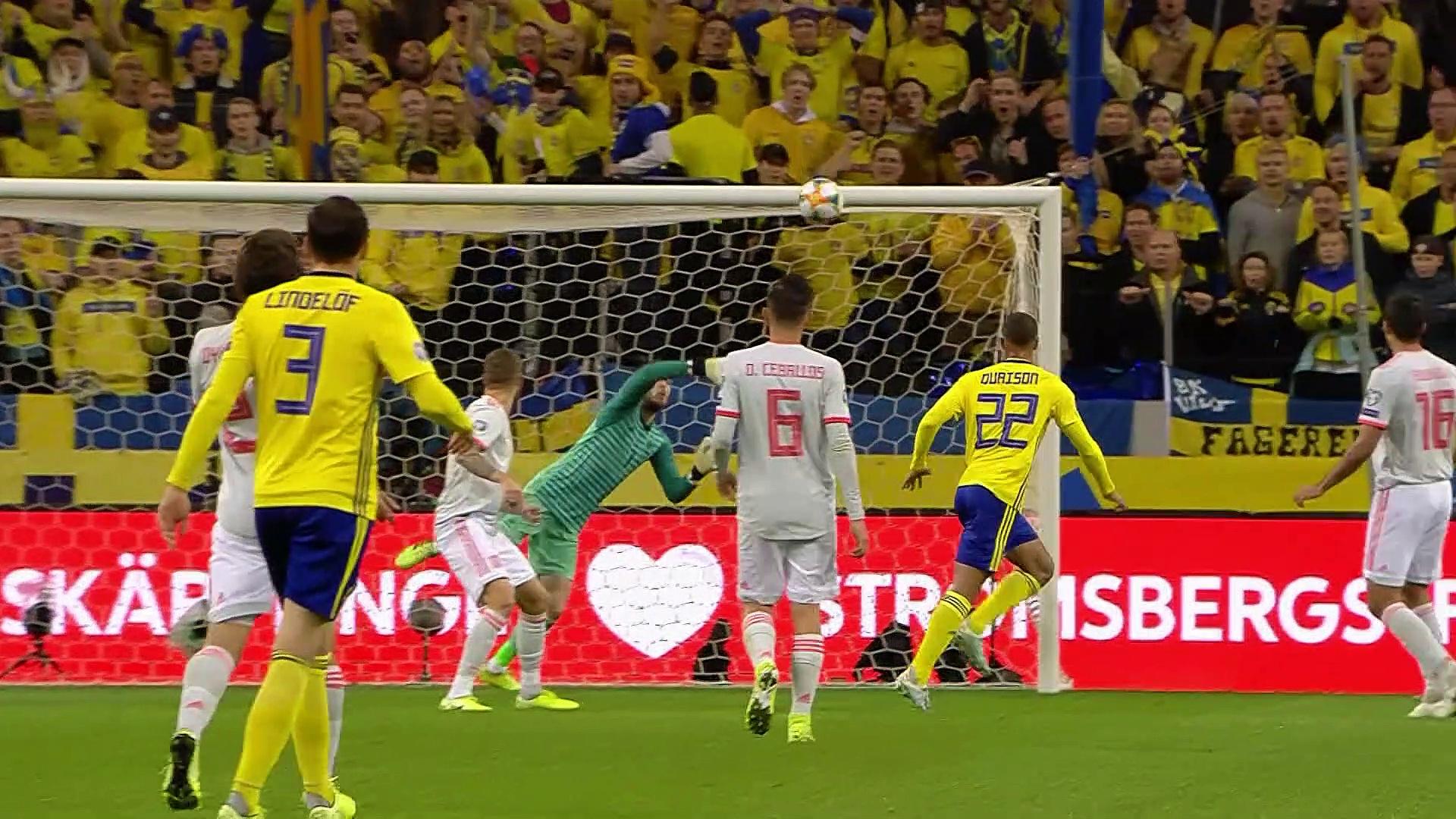 8. Hafta / İsveç - İspanya: 1-1 (Özet)