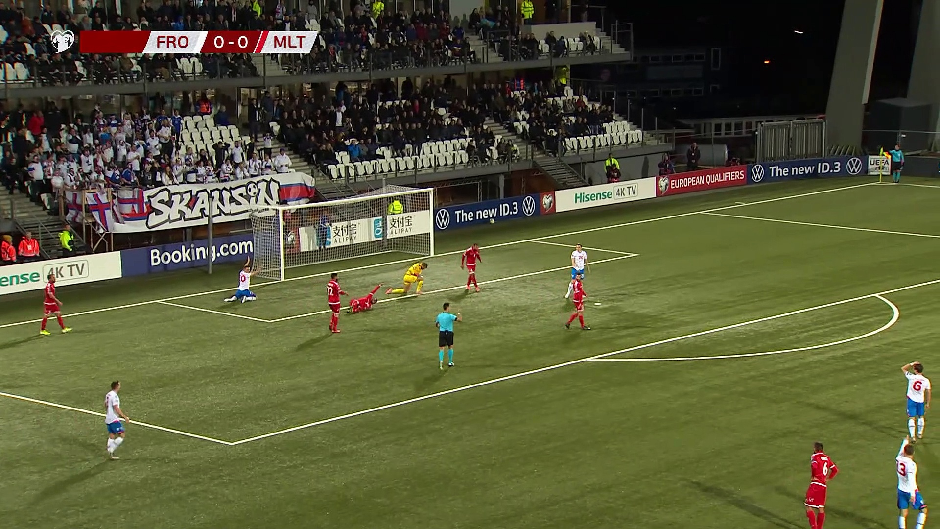 8. Hafta / Faroe Adaları - Malta: 1-0 (Özet)