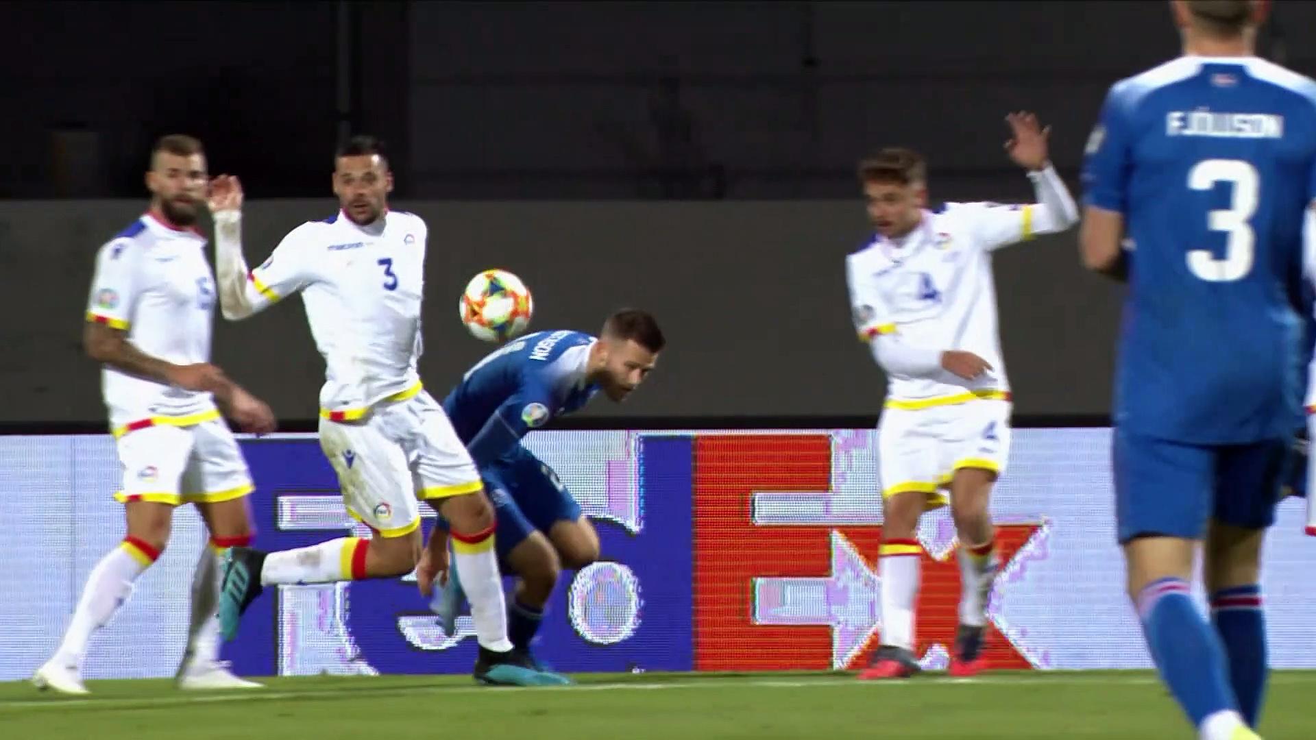 8. Hafta / İzlanda - Andorra: 2-0 (Özet)