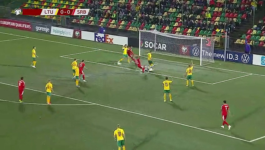7. Hafta / Litvanya - Sırbistan: 1-2 (Özet)