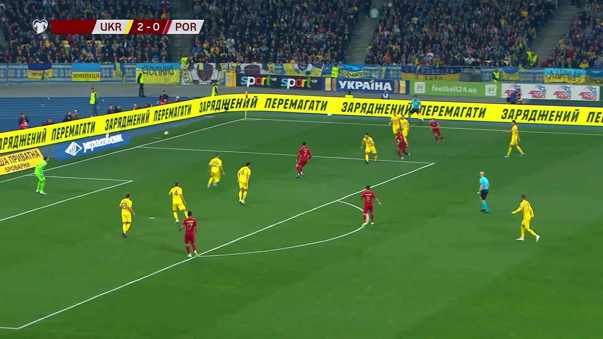7. Hafta / Ukrayna - Portekiz: 2-1 (Özet)