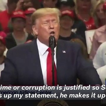 Trump Repeats 'Spy' Attack On Ukriaine Whistleblower At Campaign Rally: 'We Have To Know This'