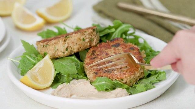How to Make Crispy Tuna Cakes
