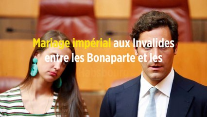 Mariage impérial aux Invalides entre les Bonaparte et les Habsbourg