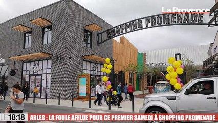 Arles La Foule Affluait Pour Ce Premier Samedi A Shopping