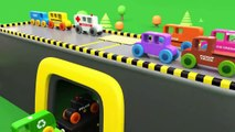 Learn Colors With Monster Street Vehicles Toys  Assembly Of Street Vehicles Toys