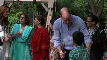 Duke and Duchess of Cambridge Visit Orphanage in Pakistan