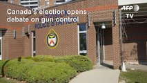 Canada election brings call to arms against gun violence