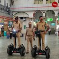 Now, RPF officers at Chennai Central will stay a step ahead on these self-balancing scooters