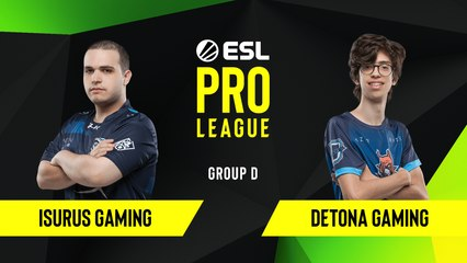 CS-GO - Detona Gaming vs. Isurus Gaming [Dust2] Map 2 - Group D - ESL NA Pro League Season 10