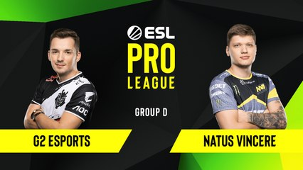 CS-GO - G2 Esports vs. Natus Vincere [Dust2] Map 3 - Group D - ESL EU Pro League Season 10