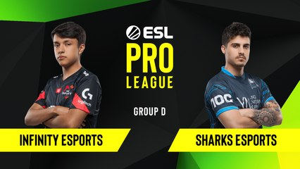 CS-GO - Infinity Esports vs. Sharks Esports [Nuke] Map 1 - Group D - ESL NA Pro League Season 10