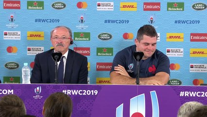Conference de presse  Pays de Galles v France