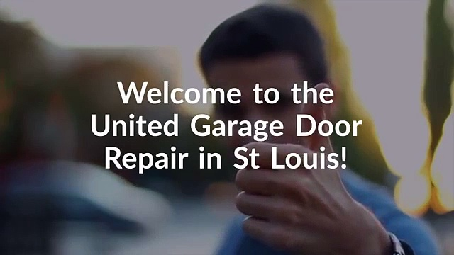 UNITED Garage Door Repair – Garage Door Opener St Louis MO – Garage Door Replacement St Louis MO