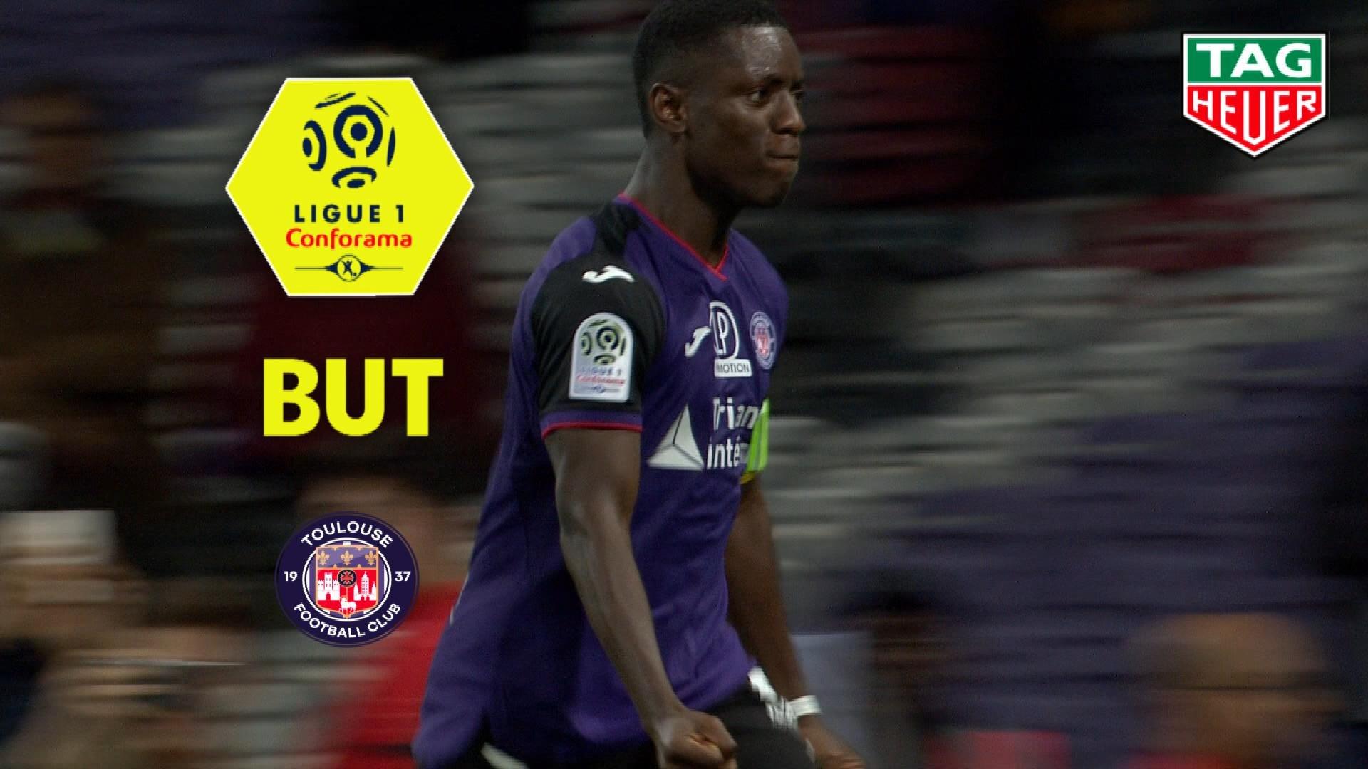 But Max-Alain GRADEL (66ème pen) / Toulouse FC - LOSC - (2-1) - (TFC-LOSC) / 2019-20