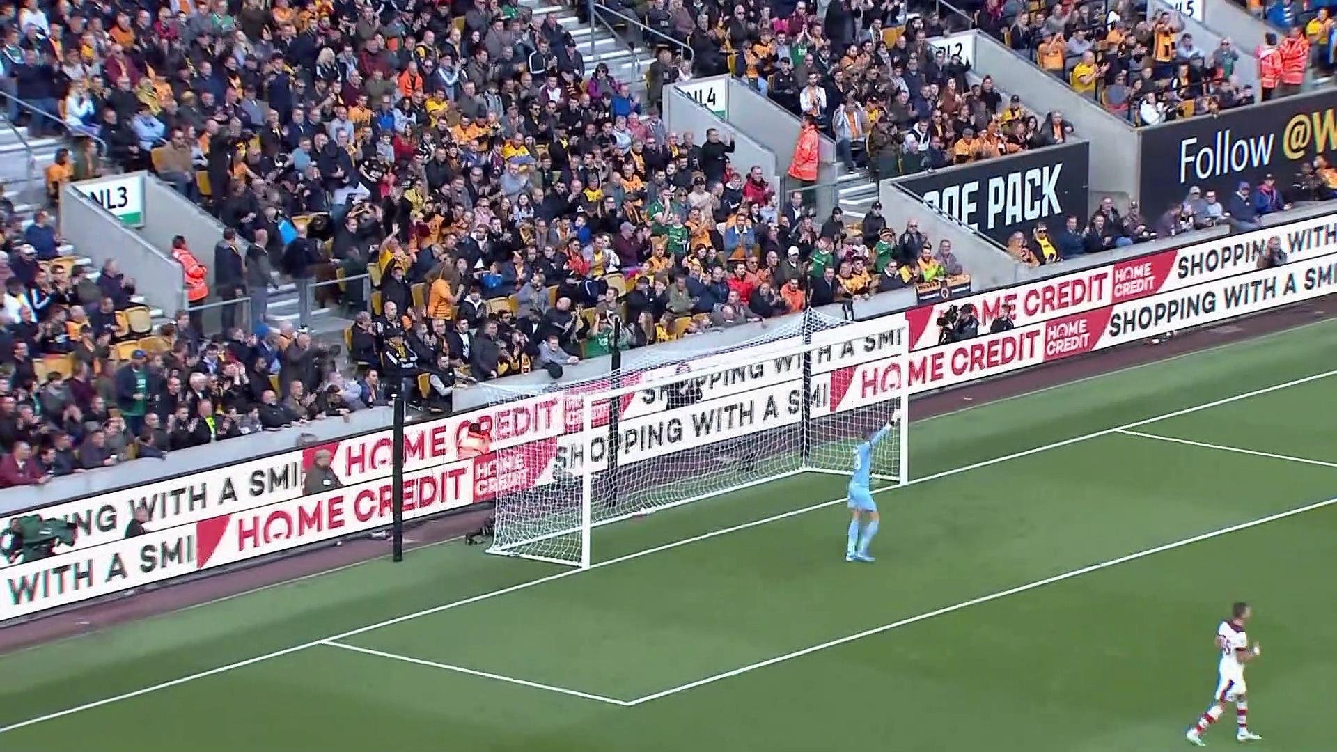 9. Hafta / Wolverhampton - Southampton: 1-1 (Özet)